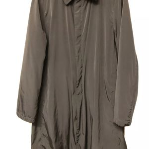 "giorgio armani mens raincoat Milano BORGONUOVO 21 black size 46 IT/36 US nylon measurements: . shoulder length: 18.5"" . sleeve length: 25"" . pit to p for Sale in Irvine, CA"