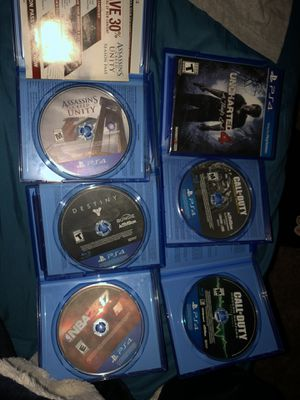 PS4 games for Sale in Bakersfield, CA