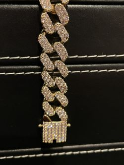Iced Out Gold Plated Braclet for Sale in Pasadena,  CA