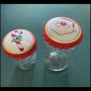 Cross Stitch Top - Mason Jars for Sale in Fountain Valley, CA