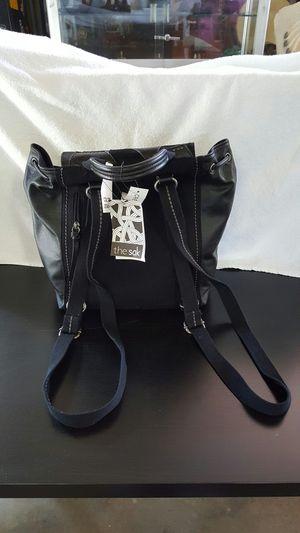 New the Sak backpack handbag purse black leather for Sale in Downey, CA