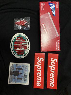 Supreme Accessories Bundle! BOGO Stickers and more! for Sale in Oakley, CA