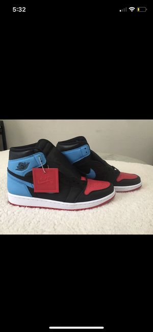 Jordan 1 unc to Chicago size 10womens /8.5mens for Sale in Tyler, TX