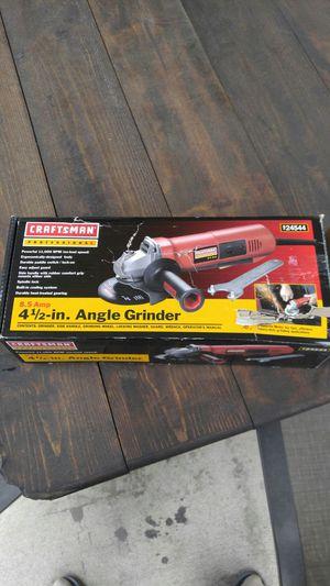 Craftsman 8.5 amp angle grinder for Sale in Dearborn, MI