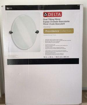 "Delta Oval Tilting Mirror 19"" for Sale in Baldwin Park, CA"
