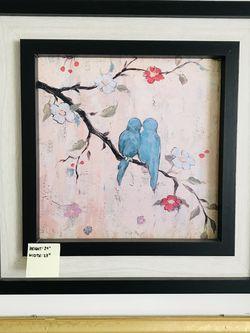 Framed Lovebirds. for Sale in Irvine,  CA