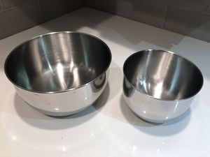 Stainless steel mixing bowls for Sale in Silver Spring, MD