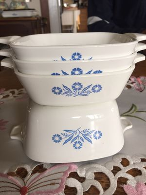 SET of 4 PETITE CORNING WARE PANS USA vintage. for Sale in Scappoose, OR
