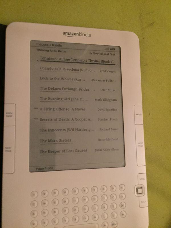 Kindle 2 generación