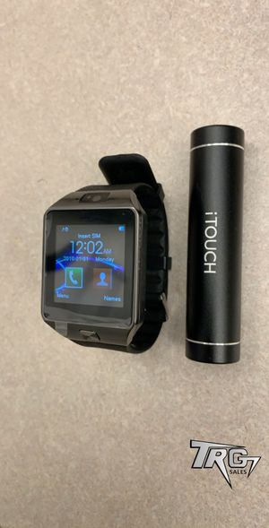 Brand New D9 Smart Watch for Android and iOS. Make and receive calls notifications. **FREE POWERBANK INCLUDED** for Sale in Davenport, FL