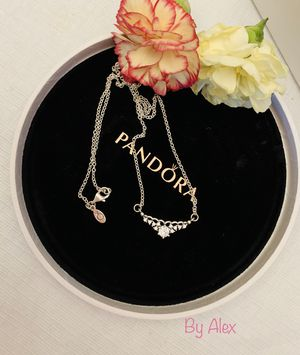 Pandora Faitytaile Tiara Necklace with CZ for Sale in Los Angeles, CA