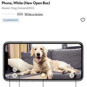 Brand New Furbo Dog Camera Treat Toss for Sale in Oxon Hill, MD