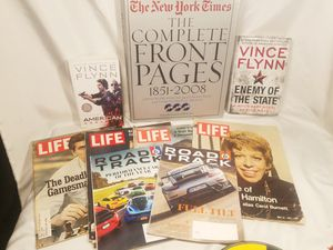 Books Magazines vintage all in the pictures one price $20 for Sale in Elk Grove, CA