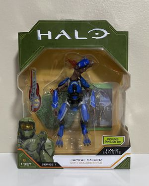 New Halo Infinite Series 1 Jackal Sniper with Stalker Rifle for Sale in Coconut Creek, FL