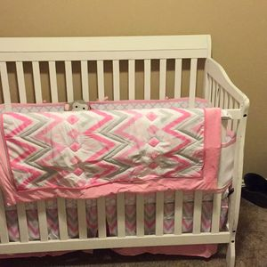 Crib, Mattress, And Changing Table for Sale in Costa Mesa, CA