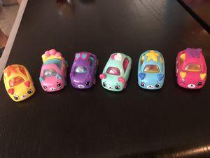 Kids Shopkin Cars/ 5 Left/ Excellent Condition for Sale in Las Vegas, NV