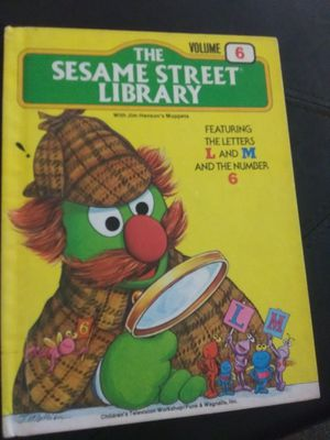 The Sesame Street Library Book Volume 6 1978 for Sale in Okatie, SC