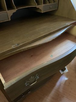 Solid wood antique desk for Sale in Tacoma,  WA