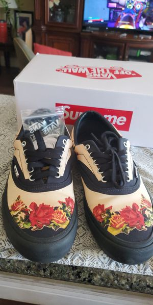 Supreme Van's size 10.5 for Sale in San Jose, CA
