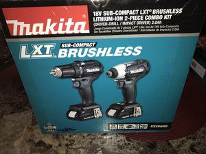 set drill makita 18v brushless for Sale in Phoenix, AZ