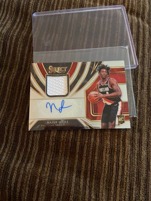 Nasir little rookie select auto memo #68/199 for Sale in University Place, WA