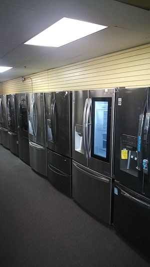LG new scrach and dents side by side and French door refrigerators price start at$899 for Sale in Milford Mill, MD
