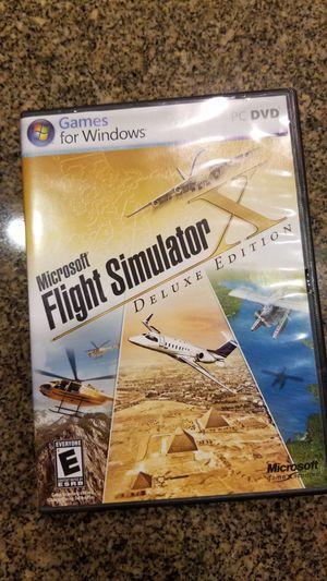 Microsoft Flight Simulator Deluxe Edition for Sale in Modesto, CA