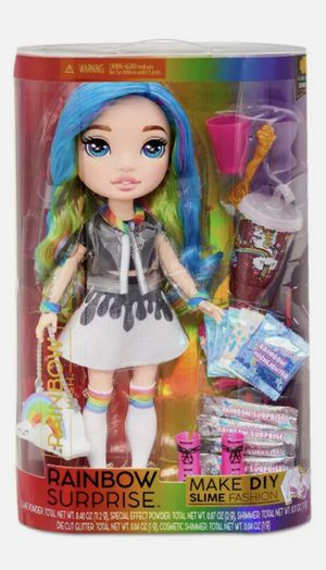 """RAINBOW HIGH 14"""" Surprise Dream Doll MAKE DIY SLIME FASHIONS Purse Accessories for Sale in Fontana, CA"""