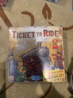 Days of Wonder Ticket To Ride by Alan R. Moon Train Adventure Board Game NIB for Sale in Fairless Hills, PA