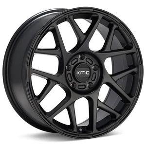 17in KMC Bully Black Rims (wheels) for Sale in Bonney Lake, WA