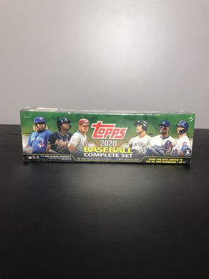 ⚾2020 TOPPS BASEBALL COMPLETE FACTORY SET- Series 1 and 2= 700 cards⚾ for Sale in French Creek, WV