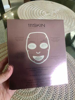 111 Skin Face Masks (5) for Sale in Rockville, MD