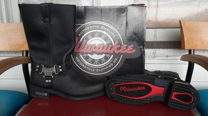 Size 13 Milwaukee motorcycle clothing co. Boots for Sale in Auburn, WA