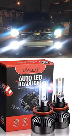 Us brand Daylead LEDs 1 year warranty 25$ plug and play free license plate LEDs with purchase for Sale in Los Angeles, CA