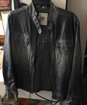 Lapis Grey Faux leather jacket for Sale in Cary, NC