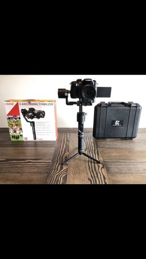 Zhiyun Crane 2 - 3-Axis Handheld Gimbal for Sale in Lakeland, FL