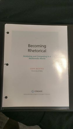 Becoming Rhetorical College Textbook for Sale in Vancouver,  WA