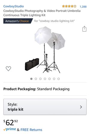 Photography Lights (Kit) for Sale in White Bear Lake, MN