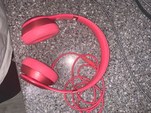 BEATS BY DRE SOLO 2 WIRED HEADPHONES for Sale in Beaverton, OR