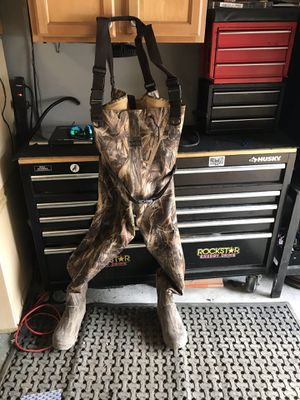 Fishing waders size 10 for Sale in Powder Springs, GA