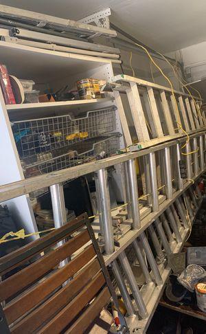 Aluminum ladders for Sale in Austin, TX