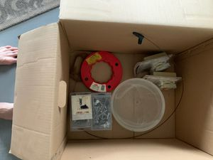 Huge assortment of garage necessities tools, tap cons, ladder, pool alarms, screws, bolts, etc for Sale in Fort Lauderdale, FL