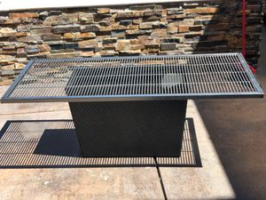 Stainless Steel Custom BBQ grill & 50 gallon steel food grade barrel for your DIY outdoor bbq grill for Sale in Union City, CA
