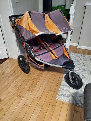 Bob double stroller for Sale in Hackensack, NJ