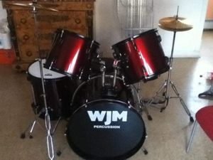 Wjm complete drum set for Sale in Bridgeport, CT