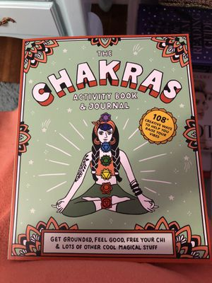 The chakras activity book and journal for Sale in Newport News, VA