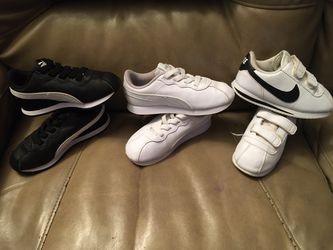 Nike, Puma & clothes size 5-7 for Sale in Fairview,  TN
