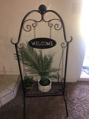 Plant stand for porch plants not included for Sale in Visalia, CA