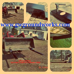 Tractor bucket forks pallet forks for Sale in Cadillac, MI