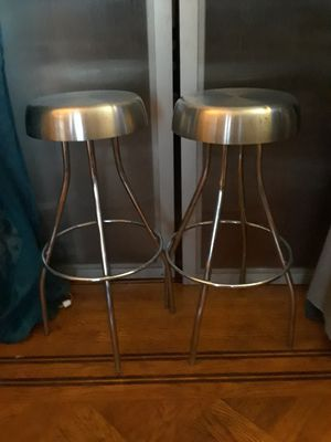 Chrome Bar / Counter Top Stools for Sale in Queens, NY
